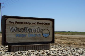 Photo of a Westlands Water District sign