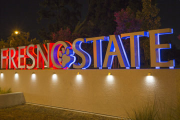 Fresno State sign