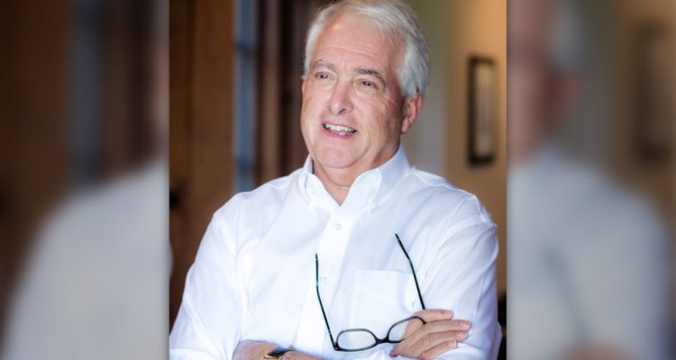 Portrait of San Diego businessman John Cox, a candidate for California governor