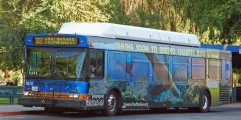 Fresno FAX Bus