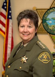 Portrait of Fresno County Sheriff Margaret Mims