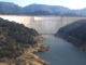 Photo Illustration of the proposed Temperance Flat dam north of Fresno, California