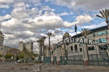 Photo of Chukchansi Park entrance