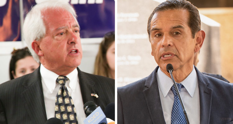 John Cox and Antonio Villaraigosa