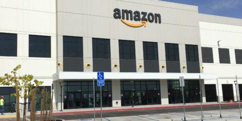 Amazon fulfillment center in Fresno