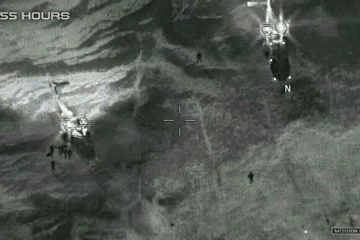 Image from video released by the Department of Defense