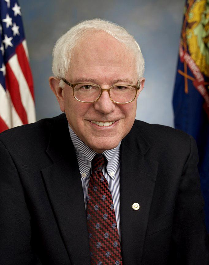 Portrait of Sen. Bernie Sanders, Independent of Vermont