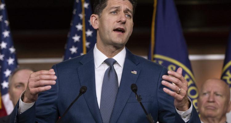 AP Photo of House Speaker Paul Ryan