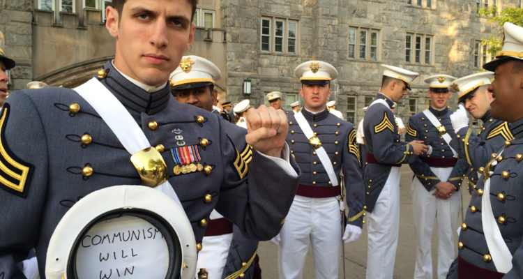 Photo of West Point graduate and former U.S. Army 2nd Lt. Spenser Rapone