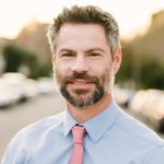 Portrait of author and environmental policy expert Michael Shellenberger