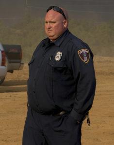 Photo of fallen firefighter