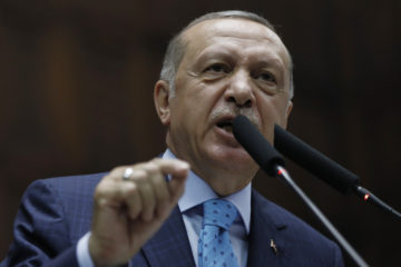 Photo of Turkey's Erdogan