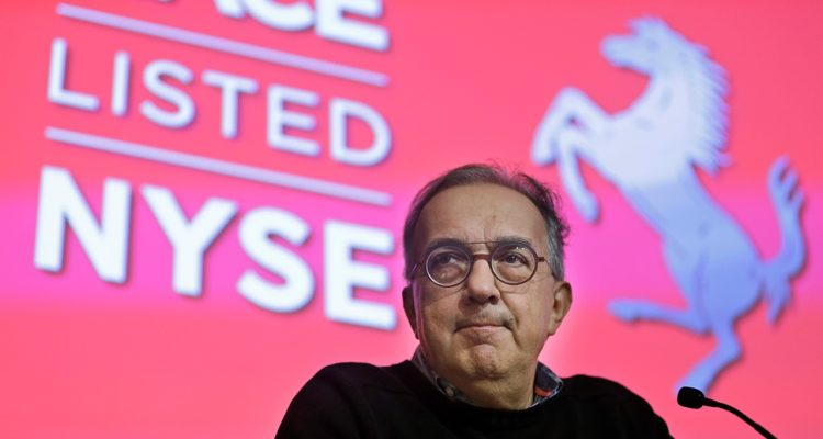 Photo of Sergio Marchionne speaking at the NYSE