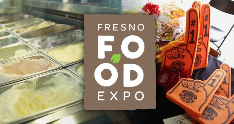 Photo illustration for the 2018 Fresno Food Expo