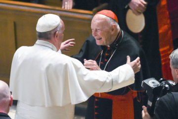 Picture of Pope Francis and Cardinal Theodore McCarrick