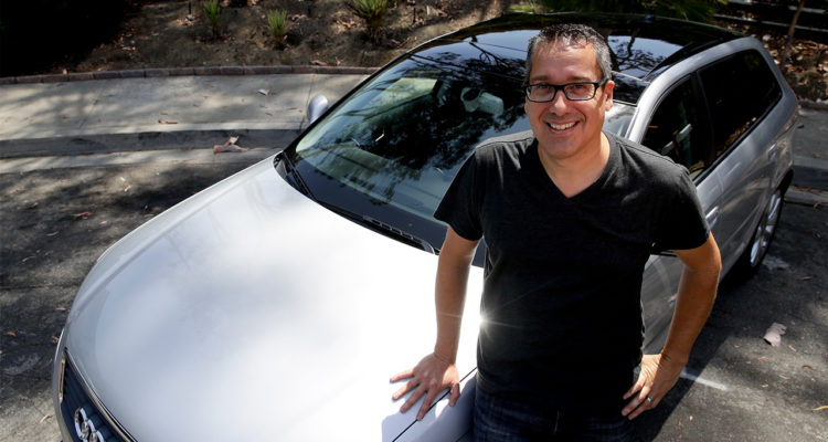 Photo of Keith Reynolds and his Audi A3