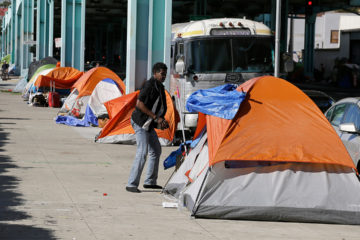 Photo of Homeless Camp in San Francisco