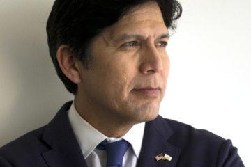 Portrait of U.S. Senate candidate Kevin de Leon