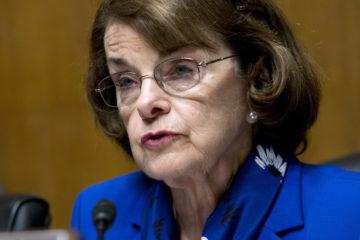 Portrait of U.S. Senator Dianne, Feinstein, D-California