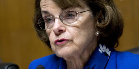 Portrait of U.S. Senator Dianne, Feinstein, D-California