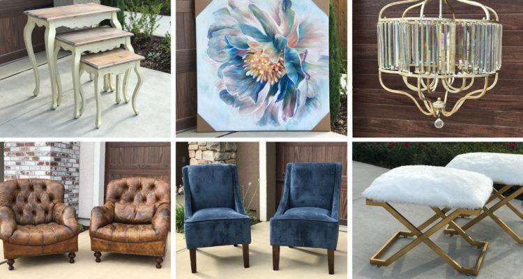 Photo of Granville designer furniture auction items