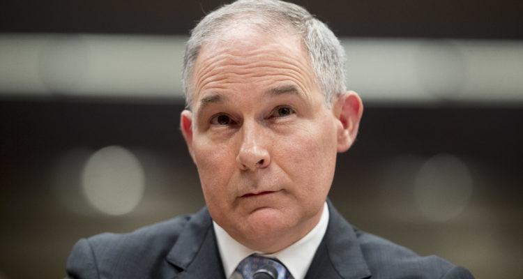 AP photo of former EPA chief Scott Pruitt