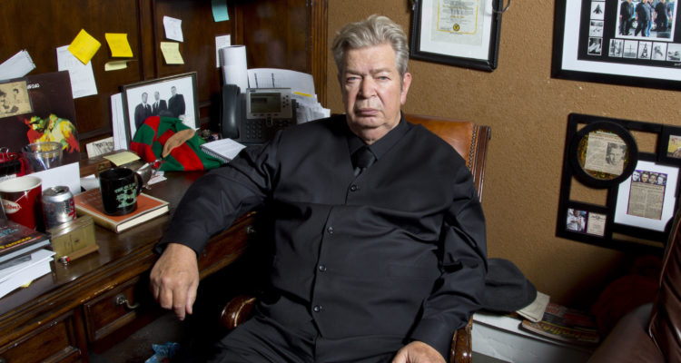 """History Channel Photo of Richard Harrison, the """"Old Man"""" on """"Pawn Stars."""""""