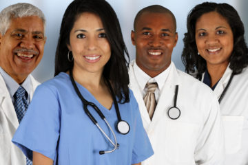 Shutterstock photo of foreign born doctors