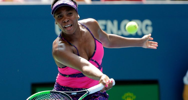 Photo of Venus Williams during the second round of the U.S. Open