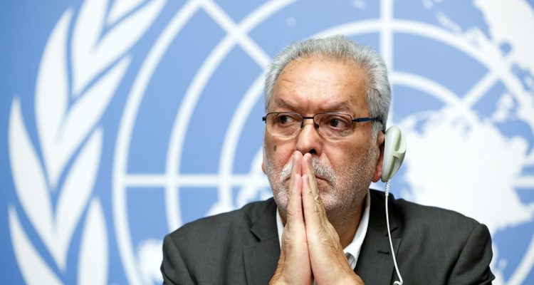 Photo of Kamel Jendoubi, Chairperson of the Group of Eminent Experts on Yemen
