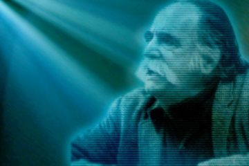 Picture of William Saroyan as a hologram