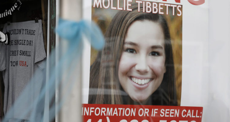Mollie Tibbets missing Iowa student search poster