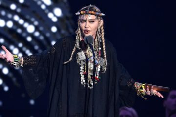 Photo of Madonna at the MTV Video Music Awards, 2018