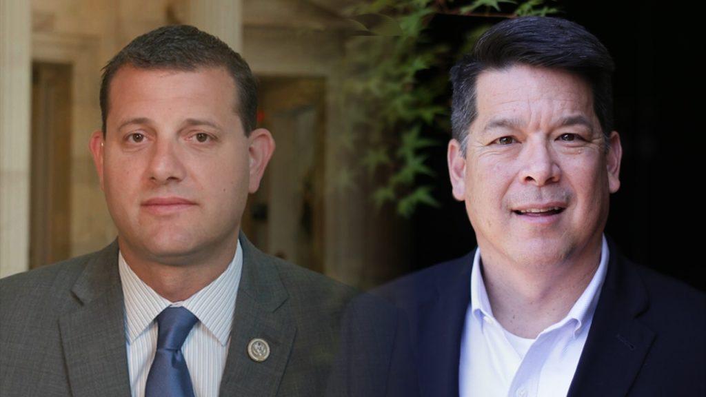 Photo of David Valadao and TJ Cox