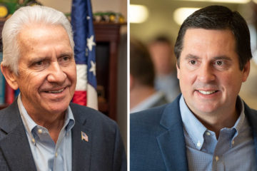 Rep. Jim Costa and Rep. Devin Nunes in side by side composite image.