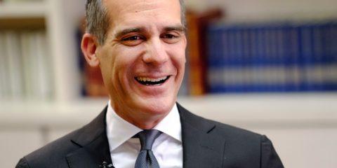 Photo of Los Angeles Mayor Eric Garcetti