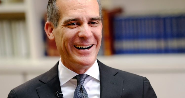 Photo of Los Angeles Mayor Eric Garcetti