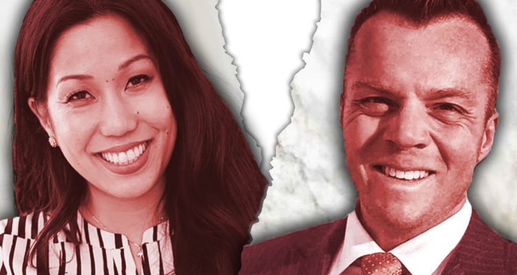 Photo graphic of Elizabeth Heng and Erik Brown