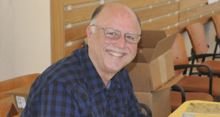 Progressive activist Mike Rhodes
