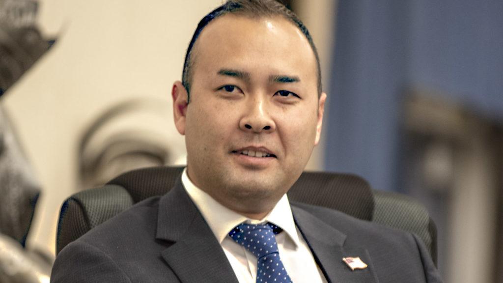 Portrait of Democratic congressional challenger Andrew Janz