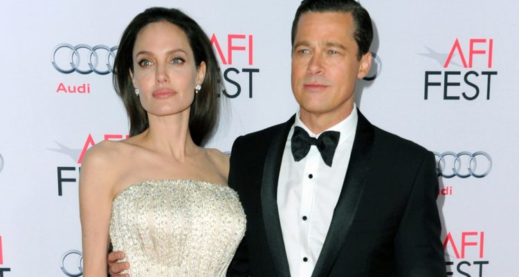 Photo of Brad Pitt and Angelina Jolie