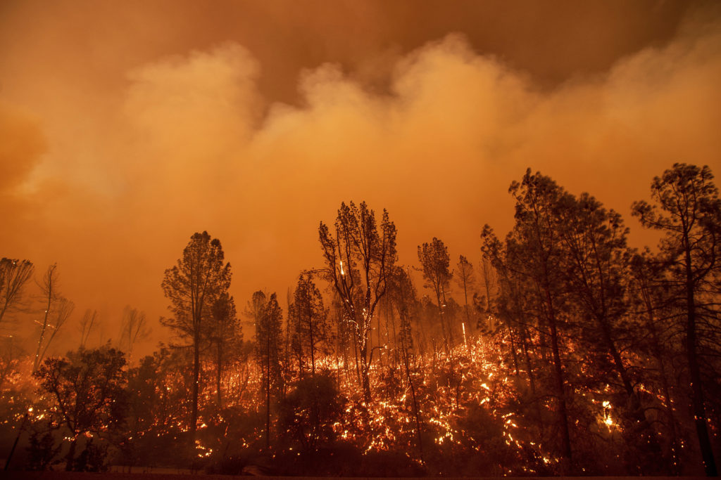Photo of the Carr Fire