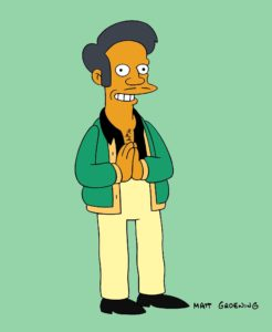 Photo of Apu from The Simpsons