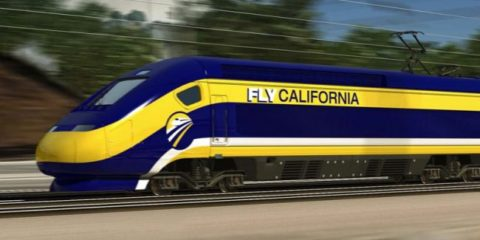 Photo California high speed rail engine