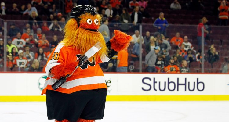 Photo of Flyers' new mascot, Gritty