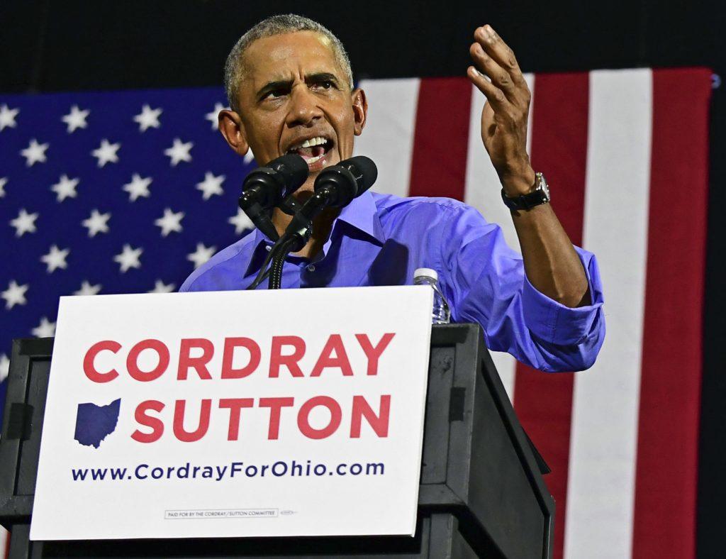 Photo of former president Barack Obama