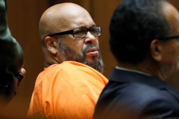 Photo of Suge Knight in court
