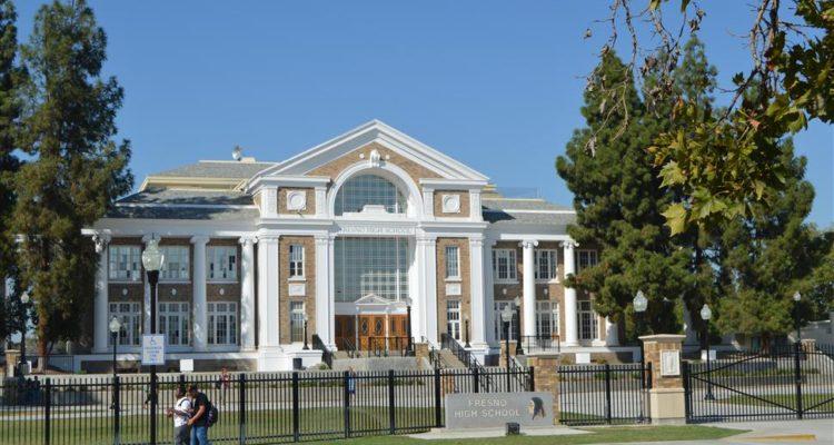 photo of fresno high school