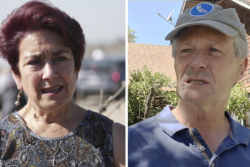 Assemblywoman Anna Caballero and Madera Supervisor Rob Poythress side by side images