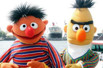 Photo of Sesame Street's Bert and Ernie